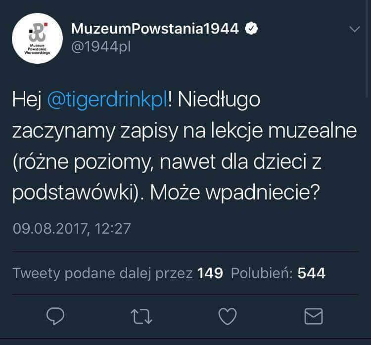 Odpowiedz muzeum powstania warszawskiego